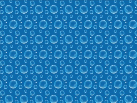 Bubbles Pattern background vector material
