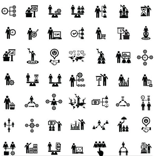 Business Icons Mix 3 creative vector
