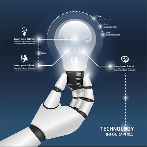 Business Ideas Backgrounds 9 vector