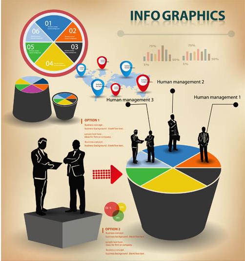 Business Infographics Elements 3 creative vector
