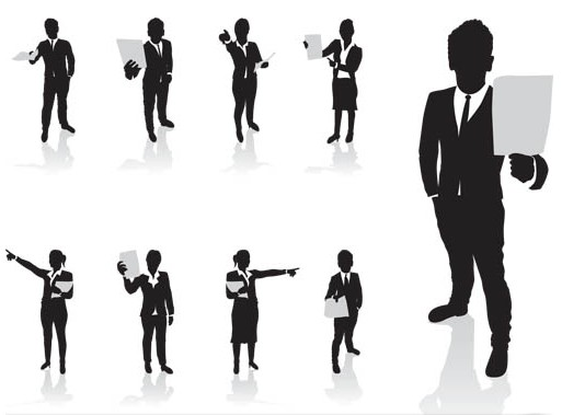 Business People 5 vector graphics