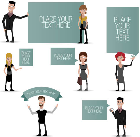 Business People Mix 2 vector