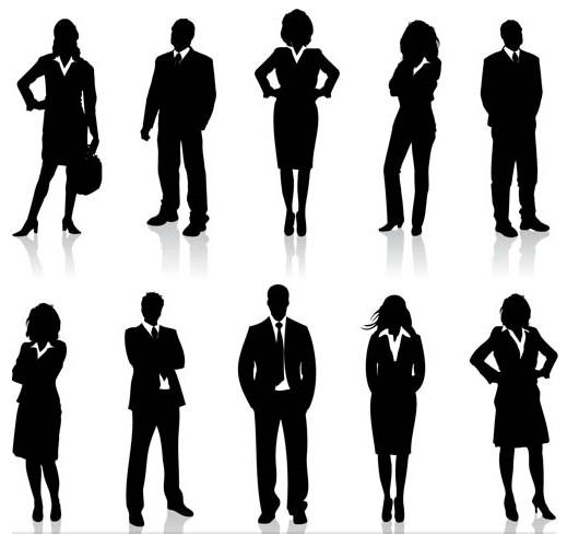 Business People art vector