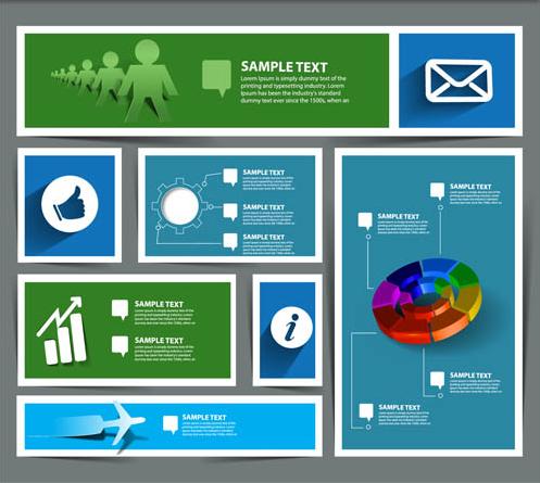Business Web Elements art vectors graphics