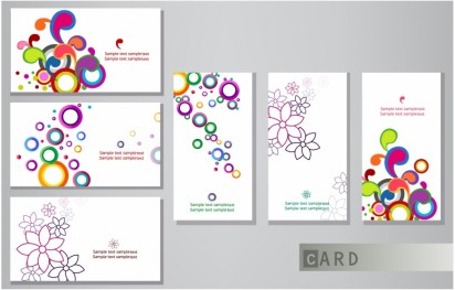 Business cards Free vector