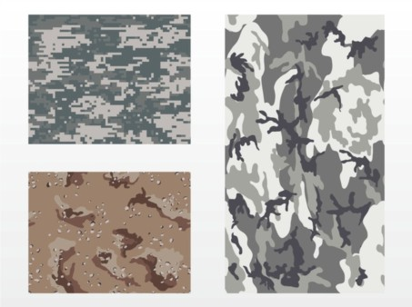 Camou flage Patterns vector