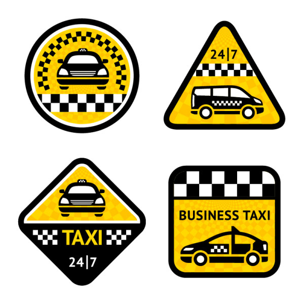 Car icons 1 vector