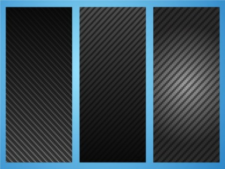 Carbon Patterns vector