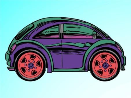 Cartoon Car Illustration vector