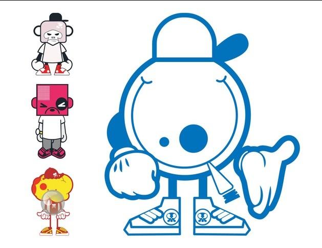 Cartoon Characters Designs art vector