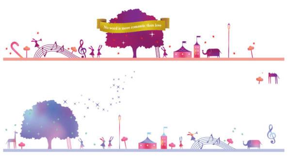 Cartoon Playground creative design 1 vectors