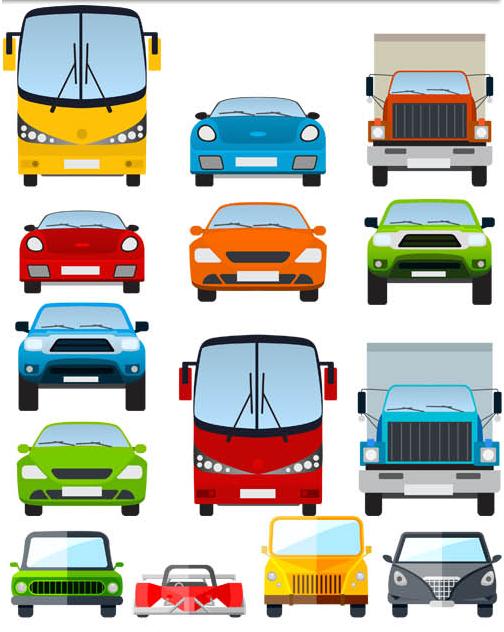 Cartoon Transport vector design