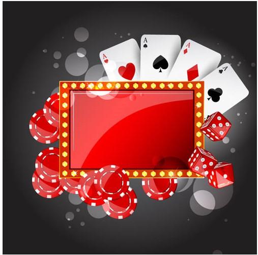 Casino Backgrounds 7 vector