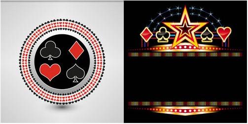 Casino Backgrounds 9 Vector Design Free Download