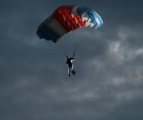Challenging paragliding Stock Photo 10