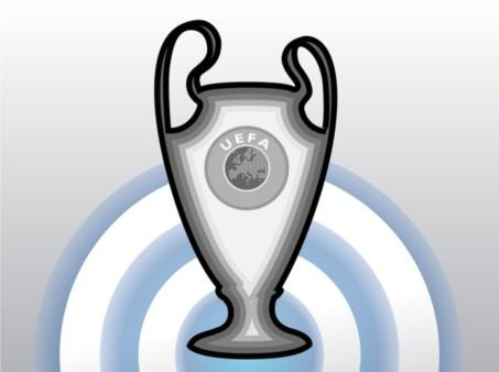 Champions League Cup Vector set
