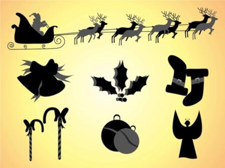 Christmas Clipart vectors material