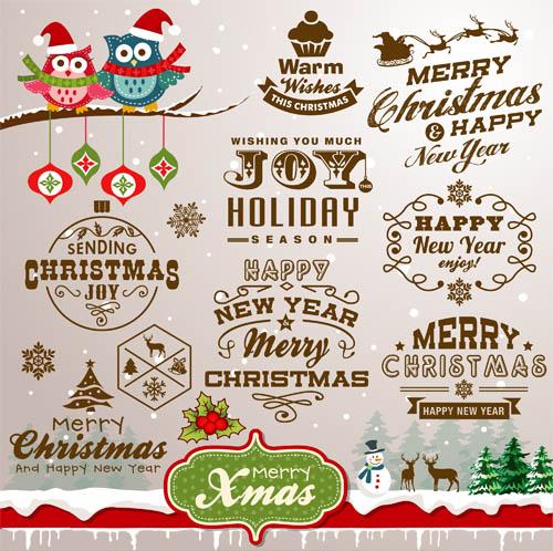 Christmas Shiny Mix 1 vector