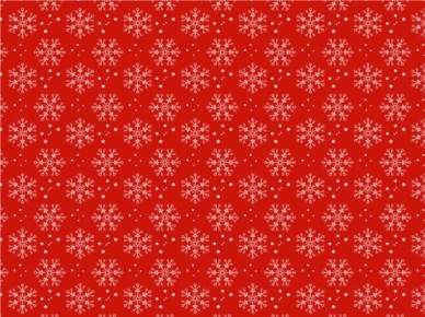 Christmas Snow Pattern vectors