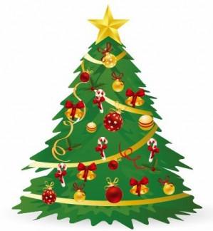 Christmas Tree Illustration 3 vector graphics