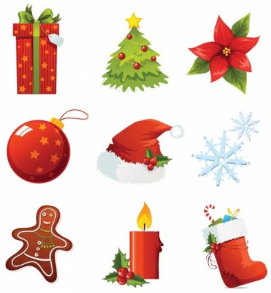 Christmas Vector Icons vector