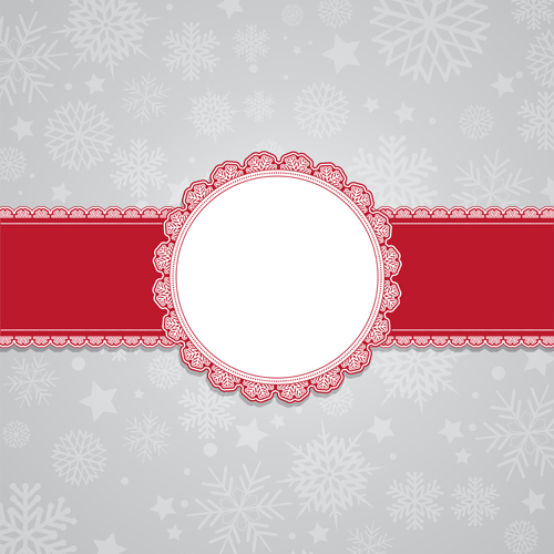 Christmas snowflake background graphic vector