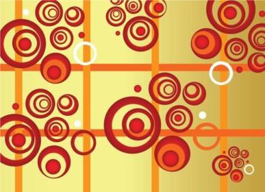 Circles Composition vector
