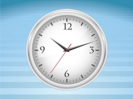 Clock Vector Illustration vector