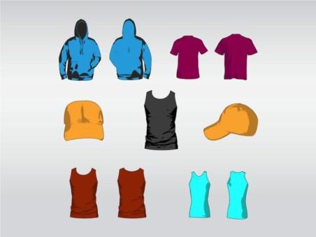 Clothes Designs vector material
