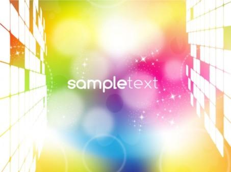 Color Technology Background vectors