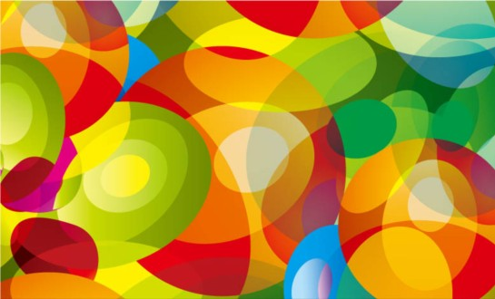 Color fantasy aperture background design vectors