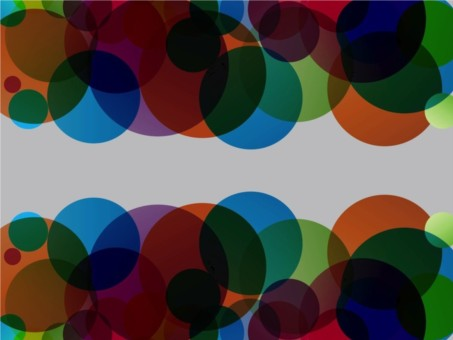 Colorful Circles Graphics vector background