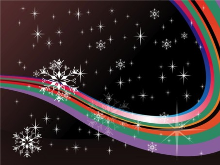 Colorful Winter vector