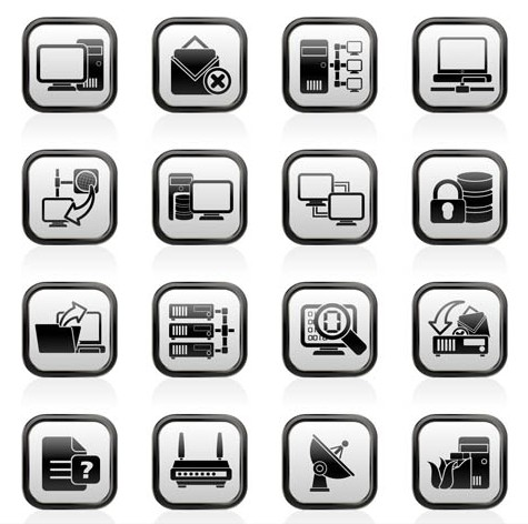 Communication Icons art creative vector