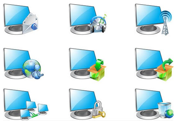 Computer Icons free vector