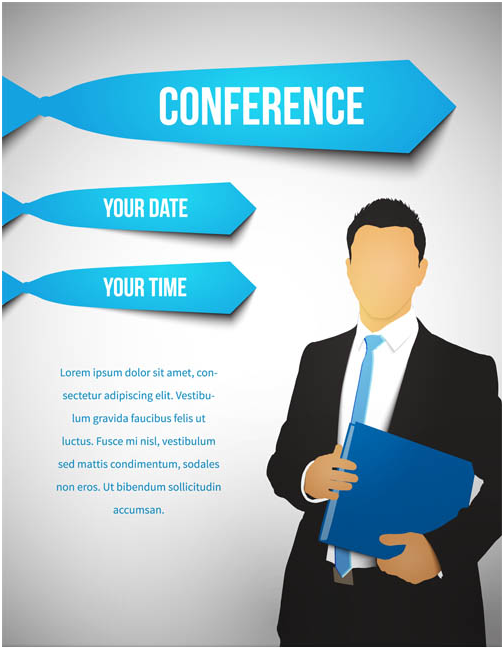 Conference Backgrounds vector