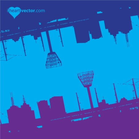Cool Urban Background vector