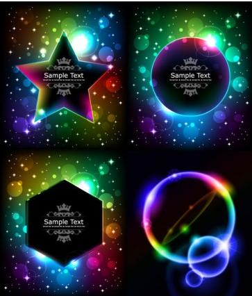 Cool light Free vectors graphic