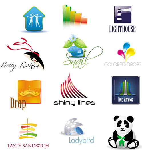 Creative Abstract Logo Mix 3 vector