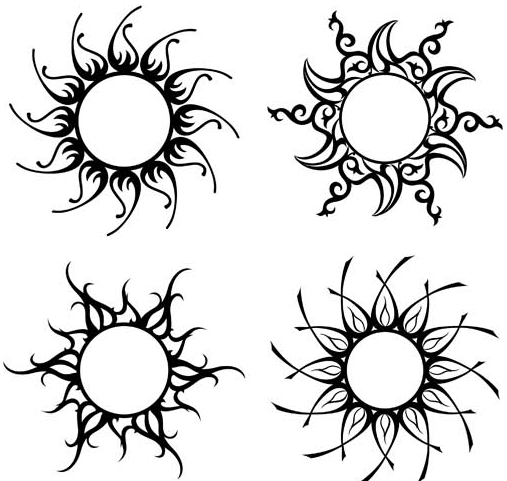 Creative Different Tattoo 2 vector