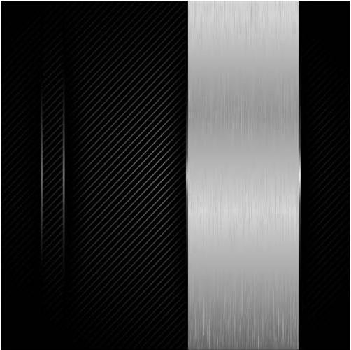 Creative Metal Backgrounds 11 vector set