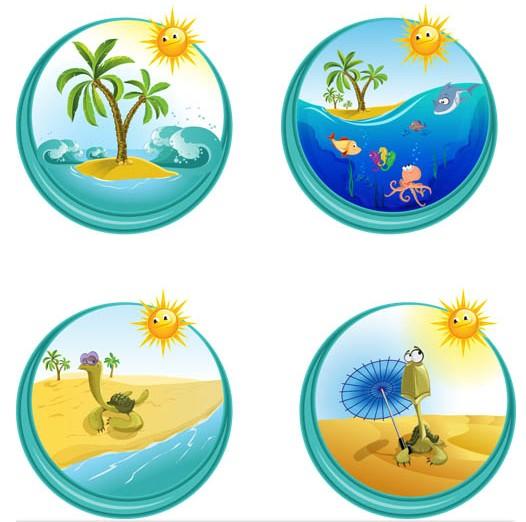 Creative Nature Logo vector
