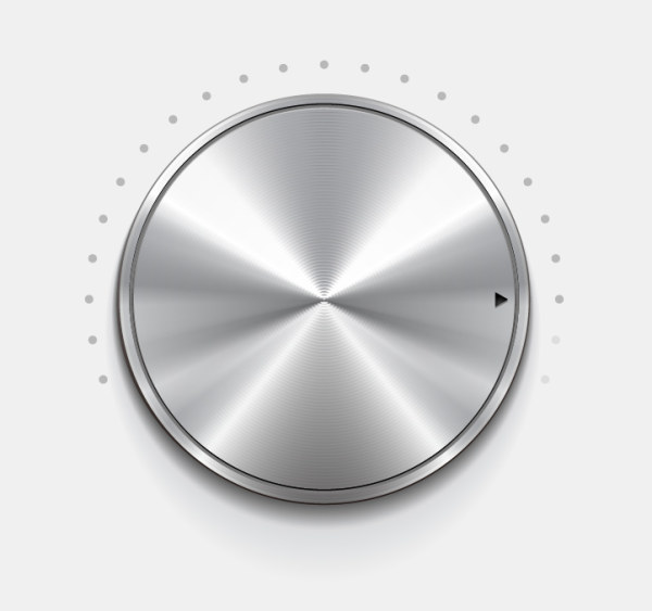 Creative button 4 vector