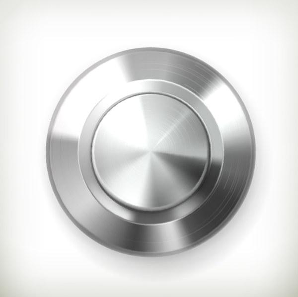 Creative button 6 vector
