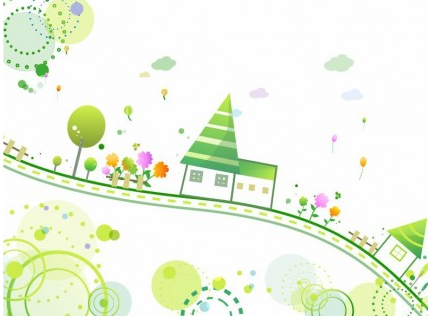 Cute Style Background vector