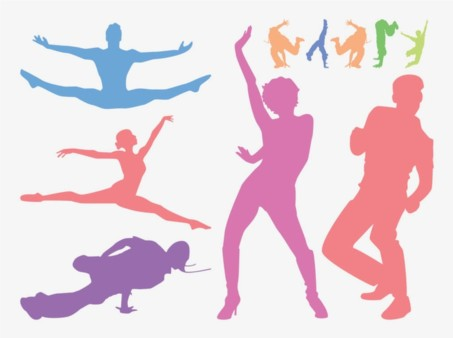 Dancing People Graphics vector