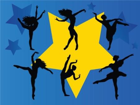 Dancing Stars vectors