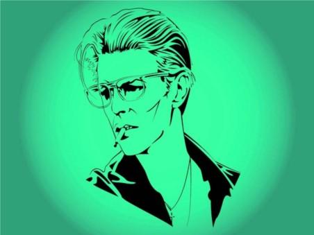 David Bowie Vector graphics