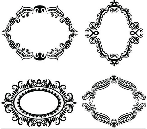 Decorative Vintage Frames vector