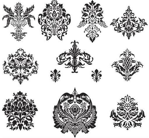 Design Floral Elements vectors